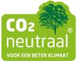 CO2 neutraal voor een beter klimaat groene afbeelding met een boom