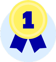 badge medaille winner
